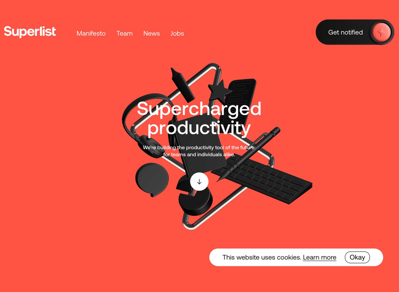 Website backgrounds - Superlist
