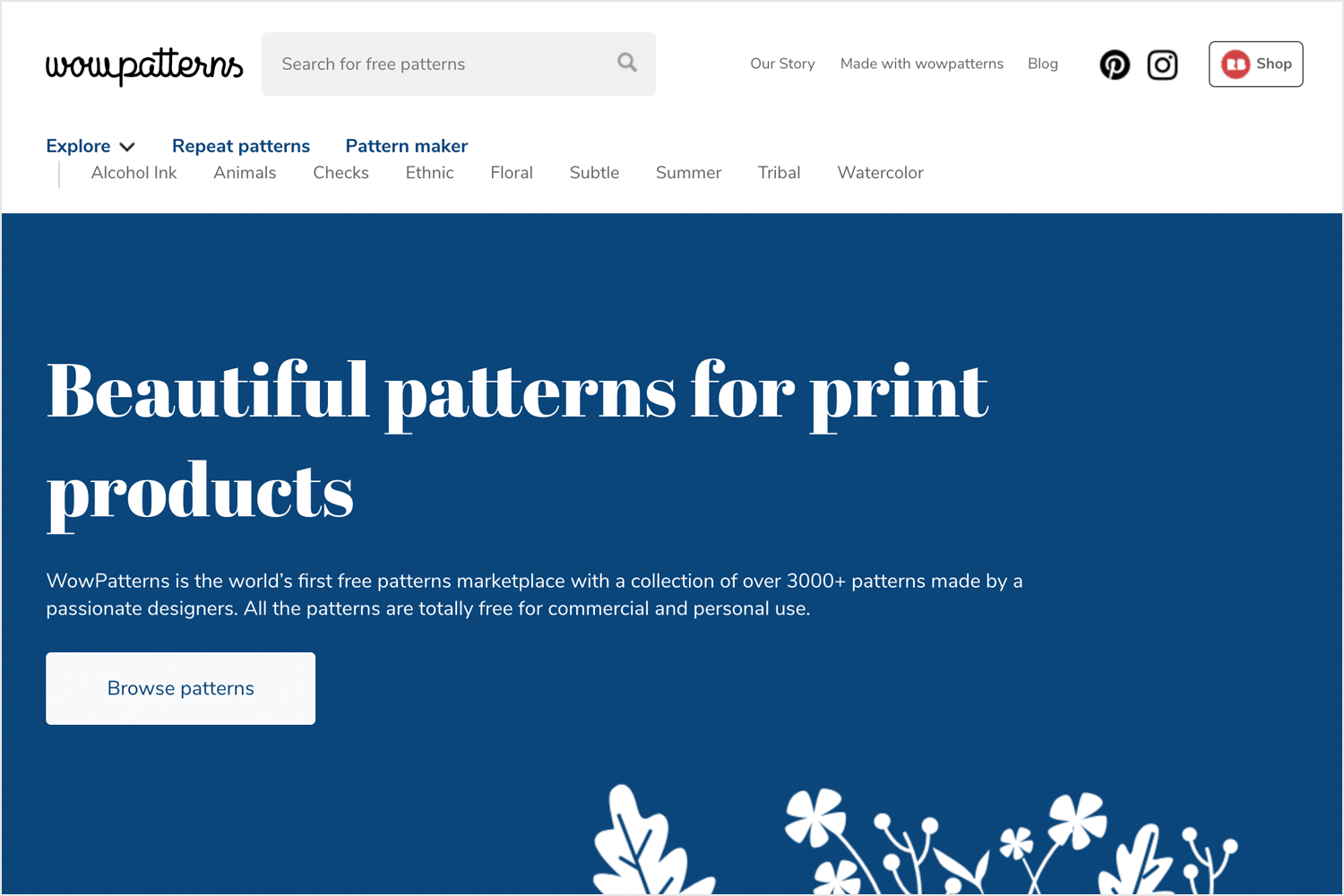 wow patterns as place for free vector illustrations and patterns