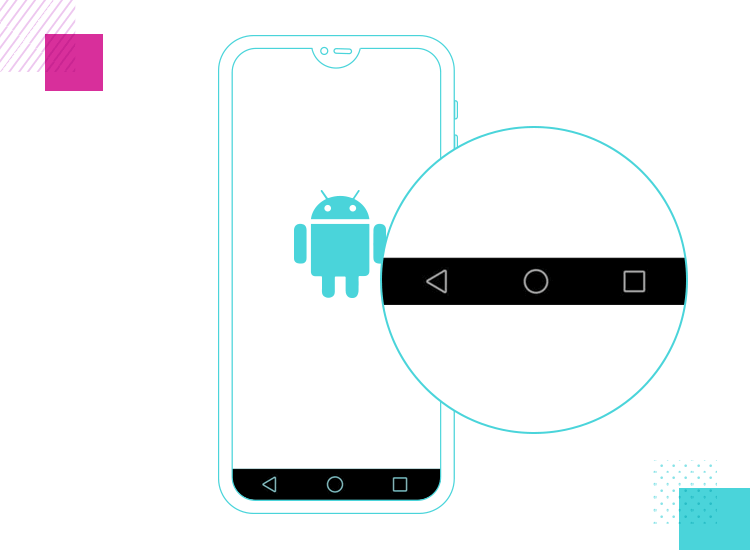 App interaction - Android navbar