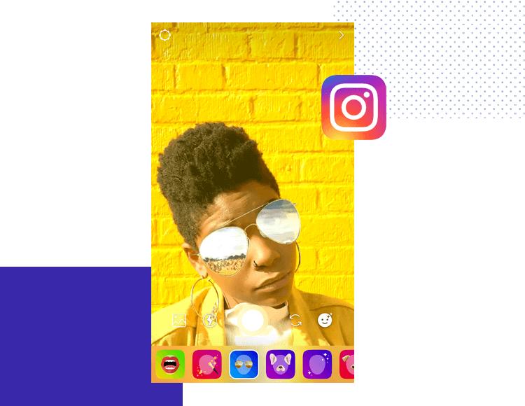 App interaction - Instagram