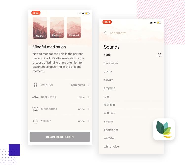 App interaction - Oak