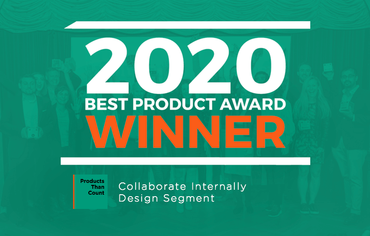 justinmind best collaboration tool award