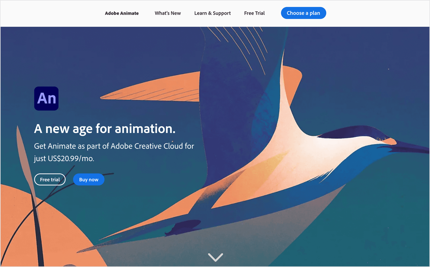 Animation apps for desktop - Adobe Animate CC
