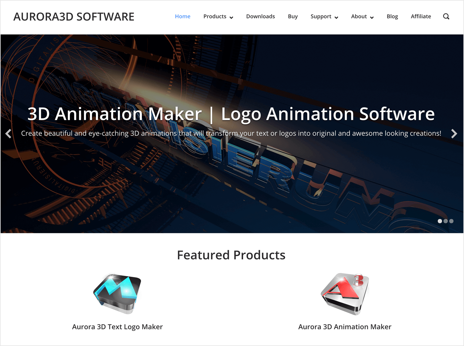 Animation apps for desktop - Aurora 3D Animation Maker