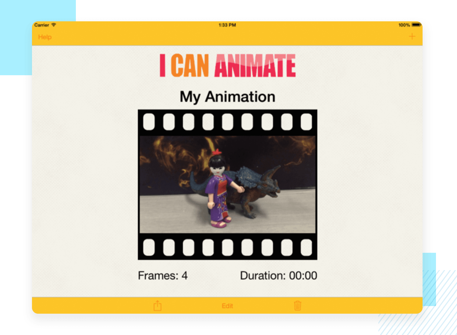 Animation apps for mobile - I Can Animate
