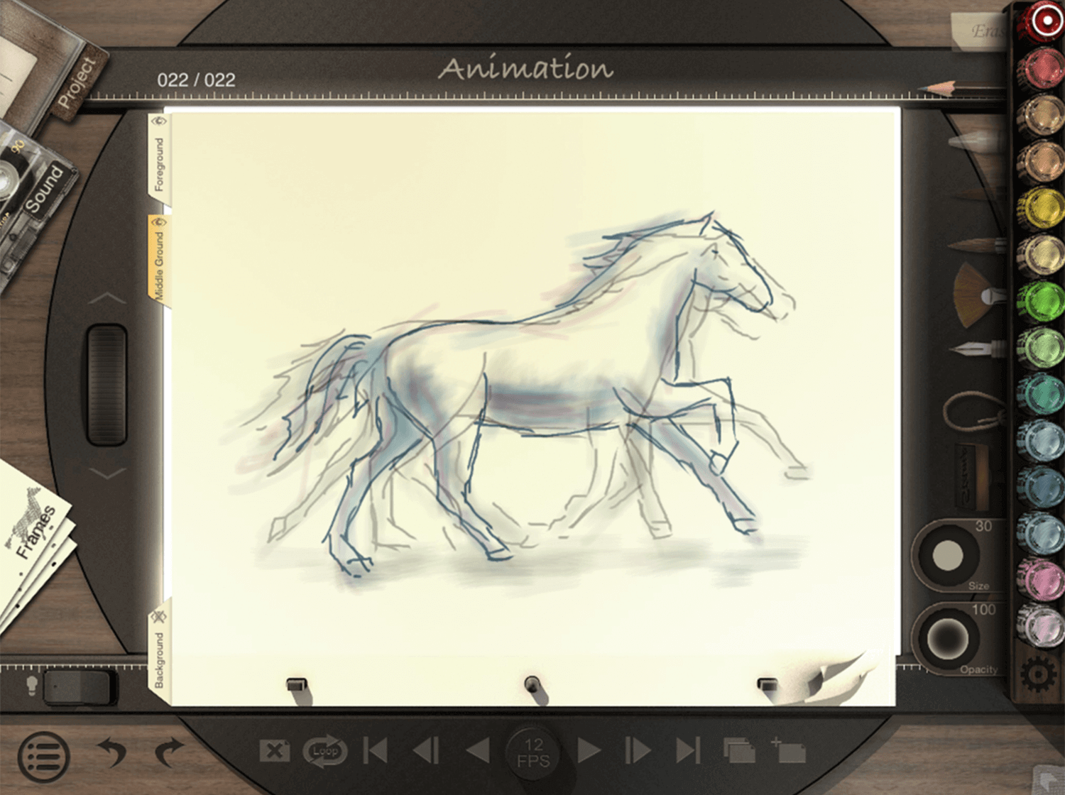 Animation apps for mobile - Animation Desk Classic