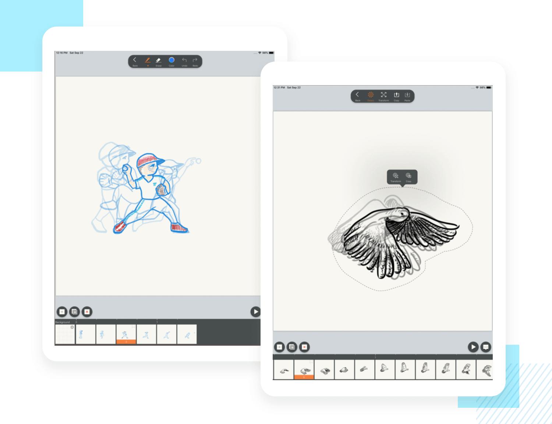Best animation apps for mobile - Motionbook
