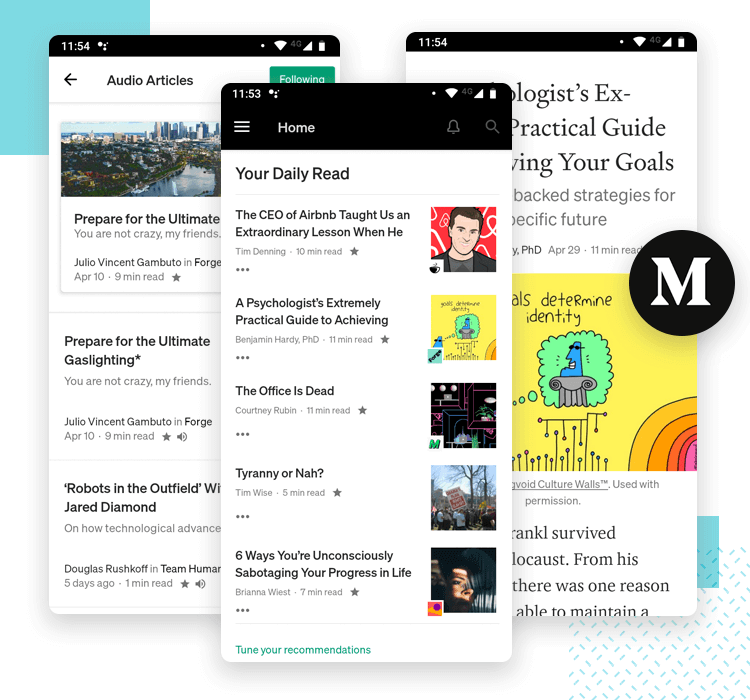 medium interface design as one of the best