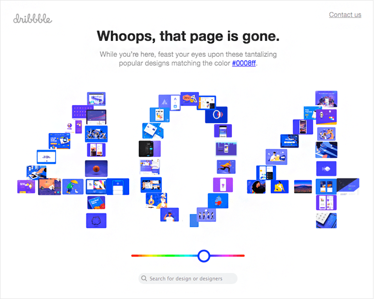 competing philosophies of 404 page design in UX sector