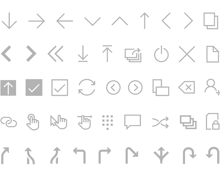 windows 10 icons pack by justinmind