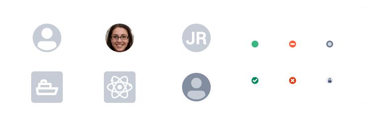 Atlaskit UI kit - avatar icons available
