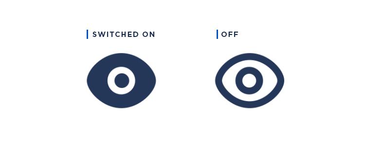 Atlaskit UI kit - filled vs unfilled icons