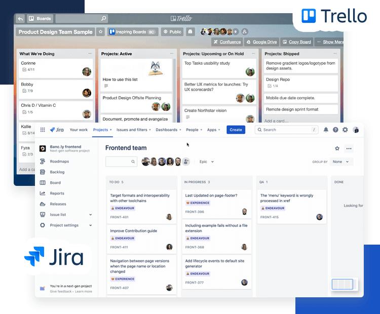 Atlaskit UI kit - Trello, JIRA and Confluence UIs