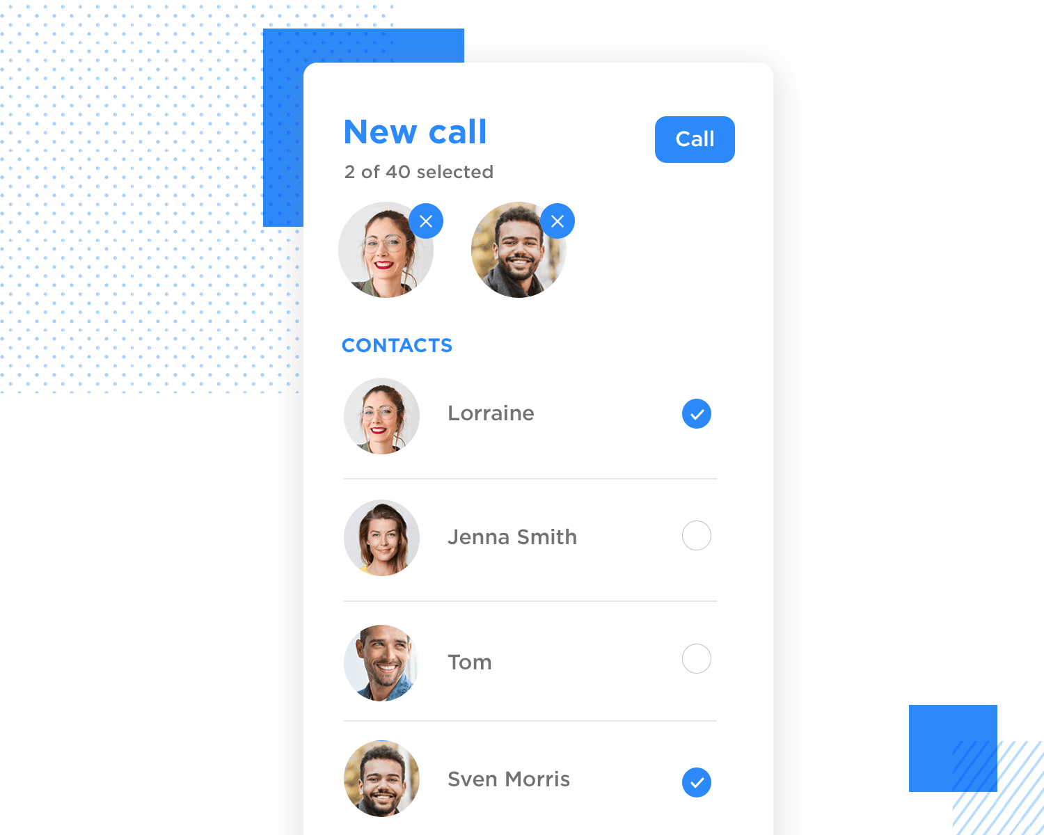 Drop down list design - multi-select on mobile