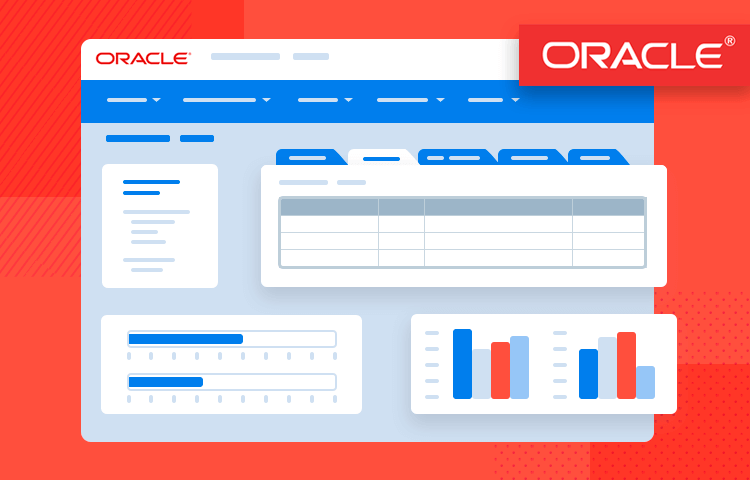 ORACLE Fusion UI kit - prototype business management apps