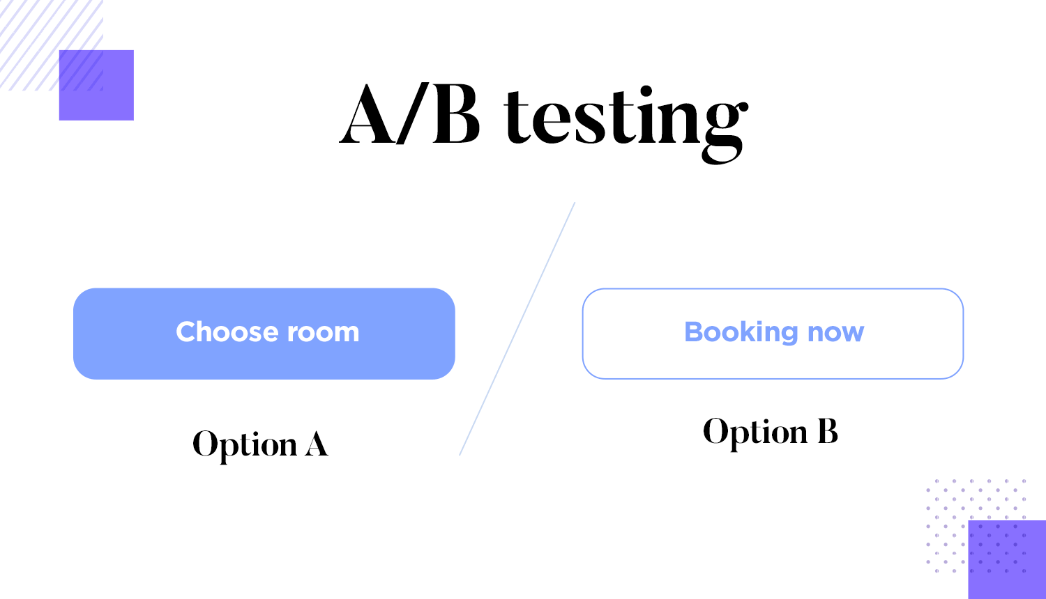 ab testing for button designs