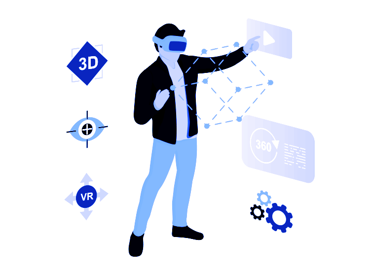 EU Horizon Research and Innovation Programme - Justinmind XR design feature