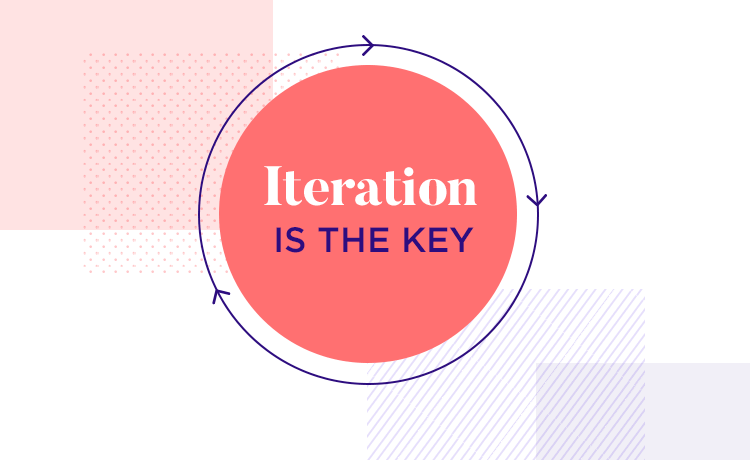 iteration in user centered design