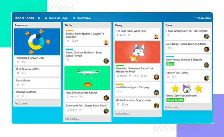 trello overcame competition with reduced features