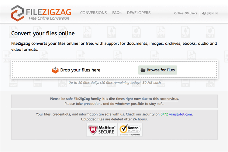 UX tools - FileZigZag