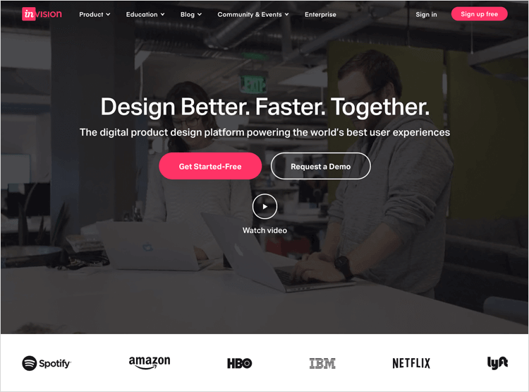 UX tools - InVision
