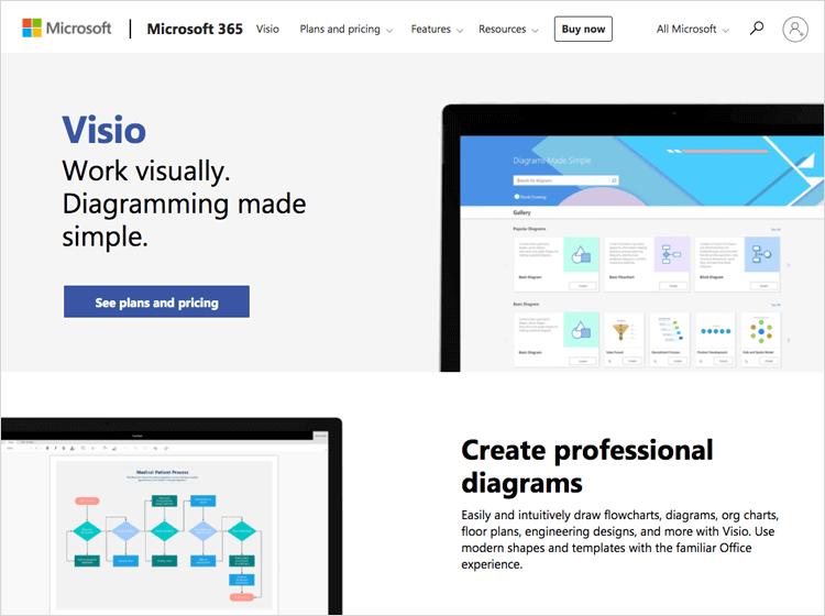 UX tools - Microsoft Visio