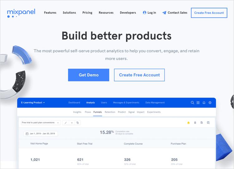 UX tools - Mixpanel