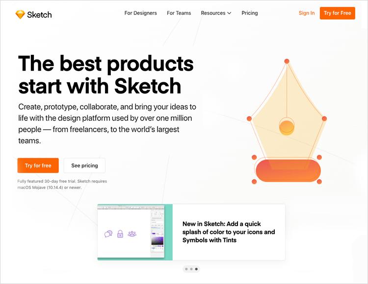 UI-UX tools - Sketch