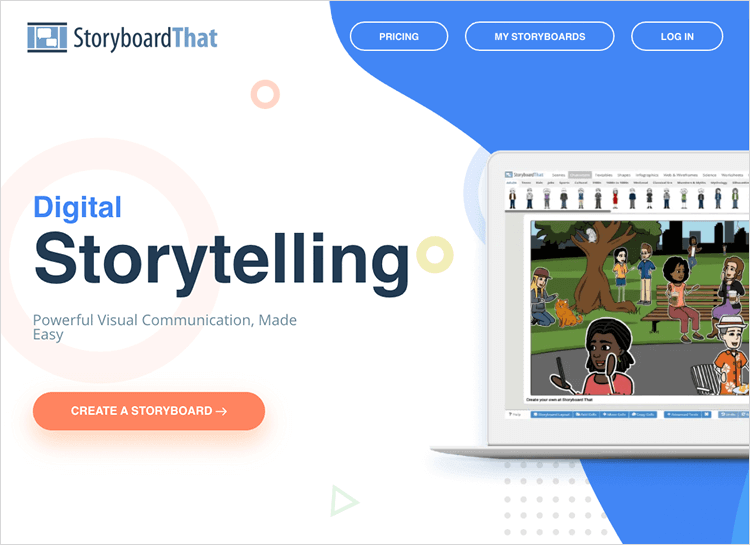 UI-UX tools - Storyboard That