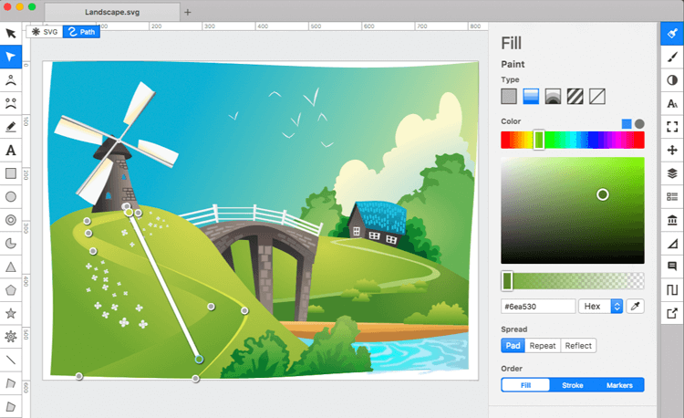 20 Great Free Paid Svg Editors For Ux Designers Justinmind