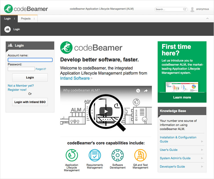 codebeamer as tool for defect tracking and traceability
