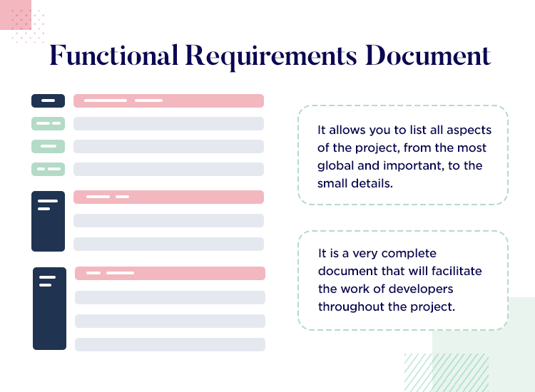 functional specification as way of documenting requirements