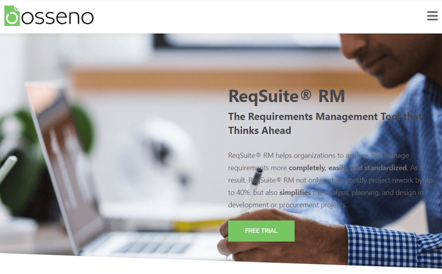reqsuite as a tool for requirements management