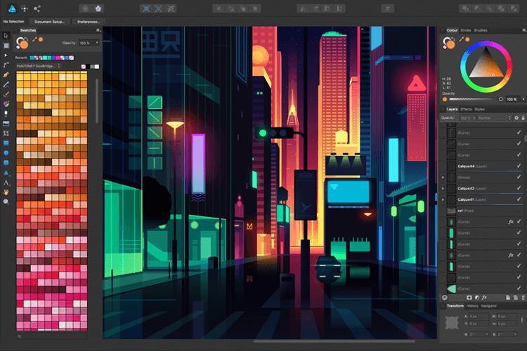 SVG editors - Affinity Designer - Justinmind
