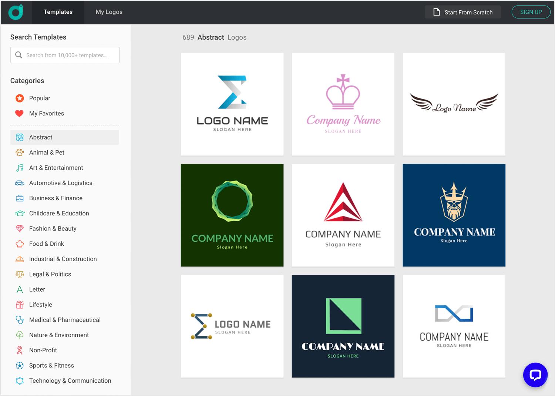 SVG editors - DesignEvo - Justinmind