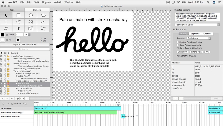 SVG editors - macSVG - Justinmind