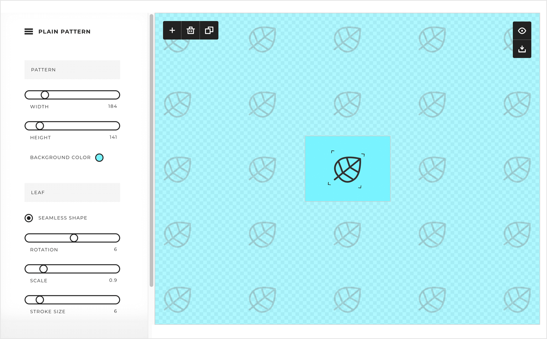 SVG editors - Plain Pattern - Justinmind