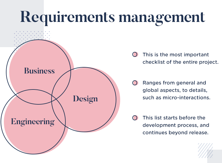 what is requirements management in ux projects