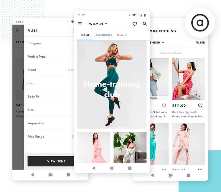 asos as example of omnichannel shopping experience