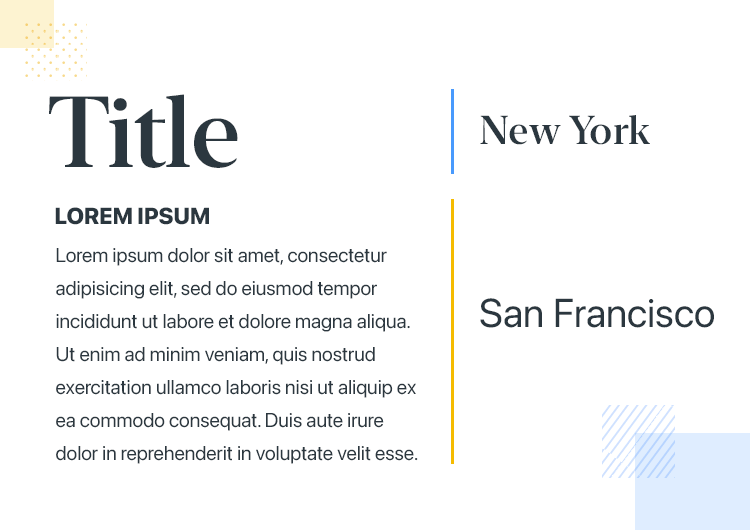 iOS app design - San Francisco vs New York