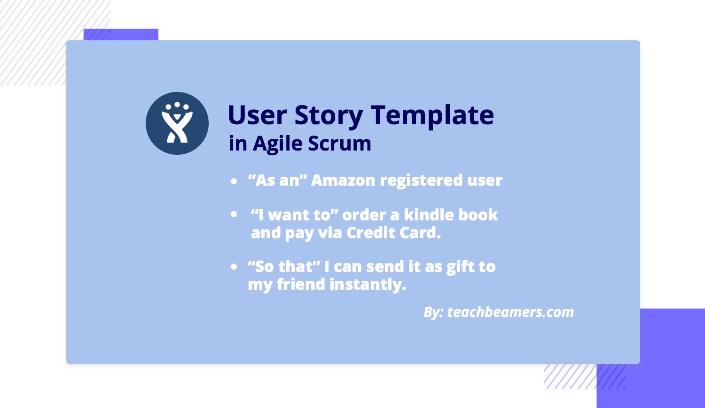 Amazom user story example
