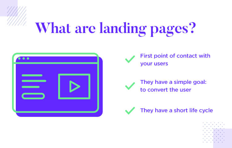 what are landing pages in ux design