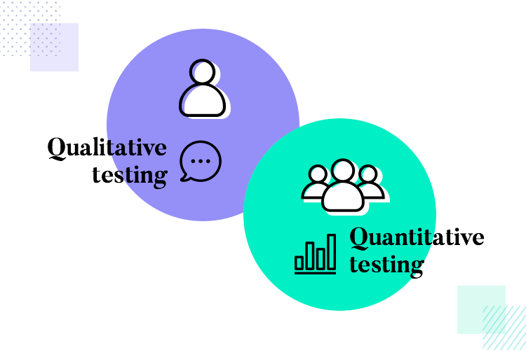 quantitative and qualitative testing - when to use each