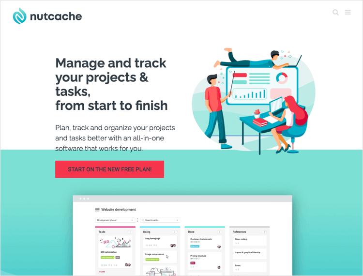 Agile tools - Nutcache