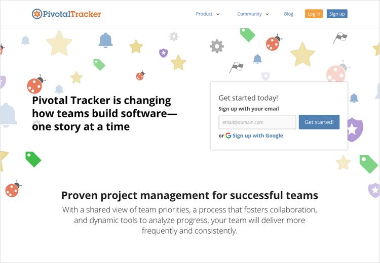 Agile tools - Pivotal Tracker