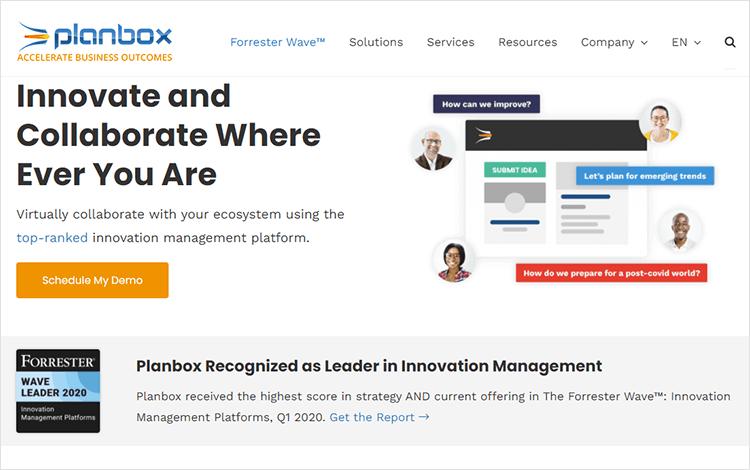 Agile tools - Planbox