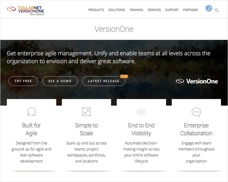 Agile tools - Version One