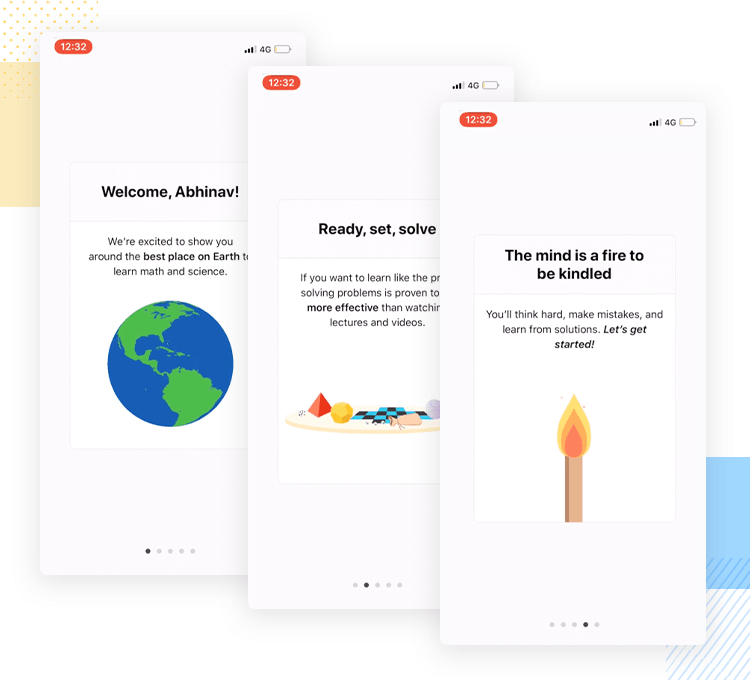 brilliant the learning app as example of good onboarding