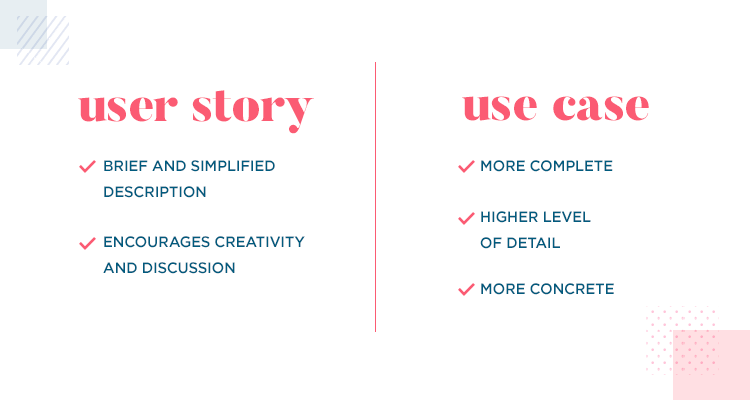 User stories vs use cases - benefits of both