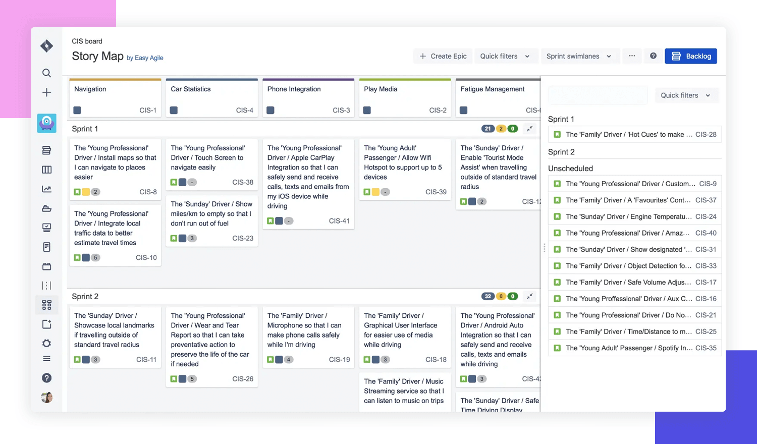 User story mapping - Atlassian Jira